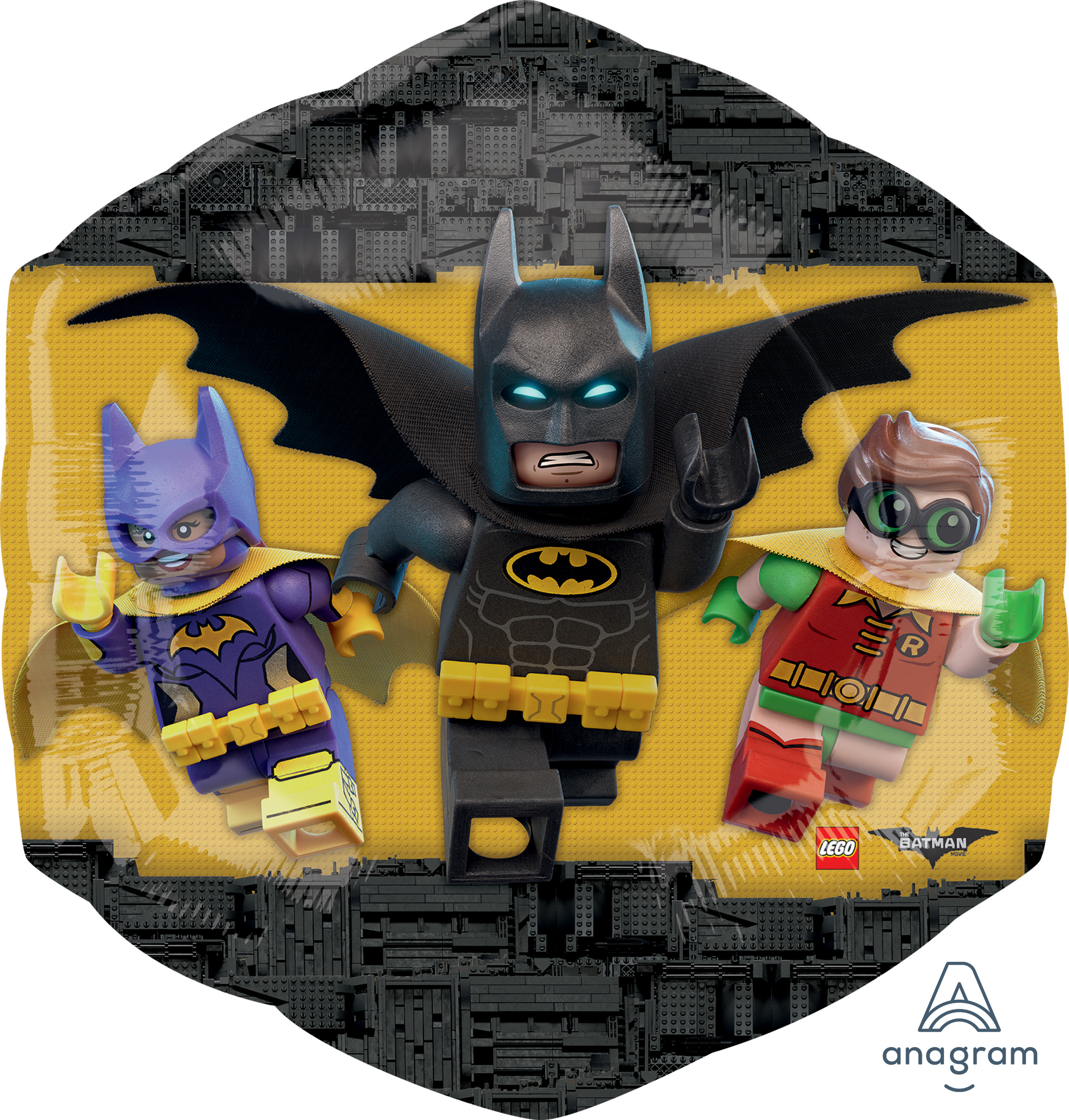 "23"" Jumbo Lego Batman Balloon"