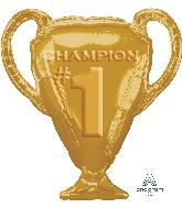 "28"" Jumbo Gold Trophy Balloon"