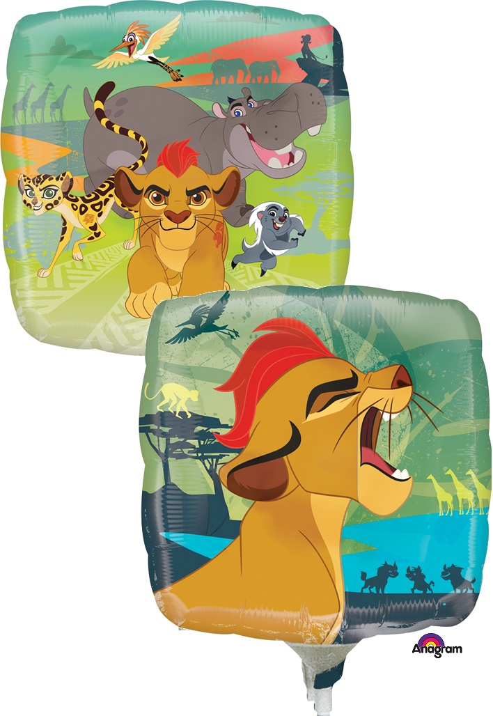 """9"""" Airfill Only Lion Guard Balloon"""