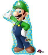 """38"""" Jumbo Luigi Balloon ( Super Mario )"""