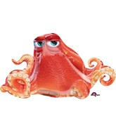 "37"" Jumbo Finding Dory Hank Octopus Balloon"