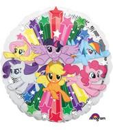 "18"" My Little Pony Gang Balloon"