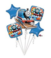 Bouquet Thomas the Tank Engine Balloon