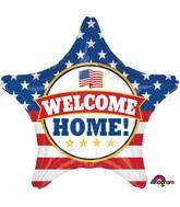 """28"""" Jumbo Welcome Back Patriotic Balloon"""