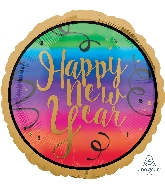 """18"""" Colorful New Year Balloon"""