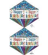 """21"""" Ultrashape Anglez Boss's Day Dots & Stripes"""