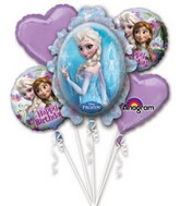 Disney Frozen Bouquet of Balloons