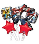 Transformers Animated Bouquet of Balloons