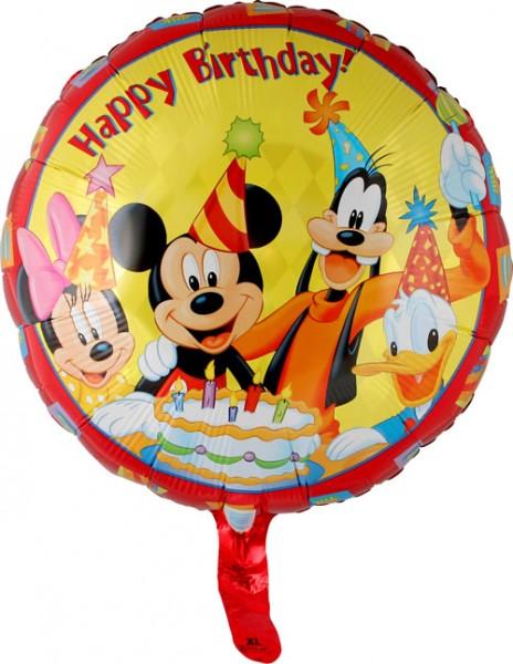 "18"" Mickey & Friends Happy Birthday"