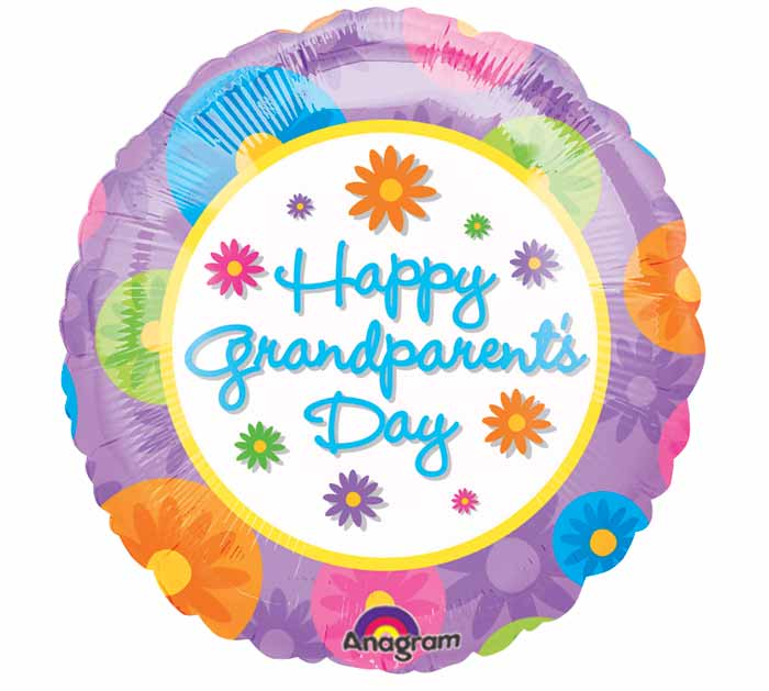 "18"" Happy Grandparent's Day Balloon"