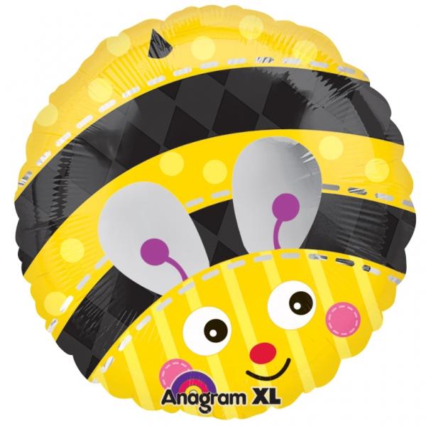 "18"" Cute Bumble Bee Mylar Balloon"