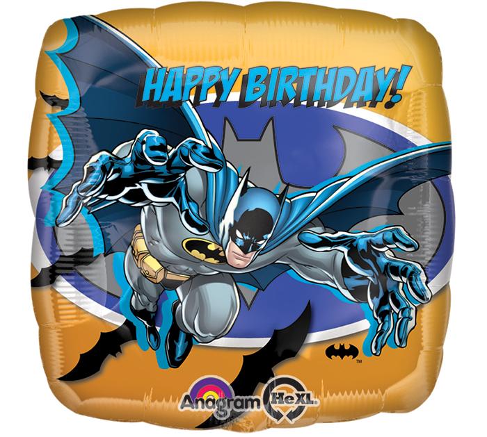 "18"" Batman Birthday Party Balloon"