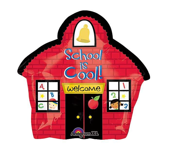"20"" Junior Shape School House Balloon"