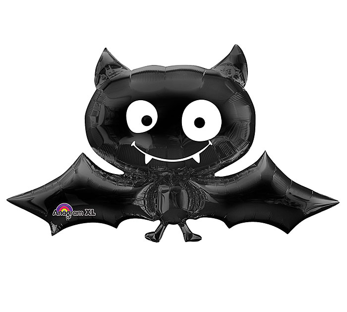 "41"" SuperShape Black Bat Balloon"