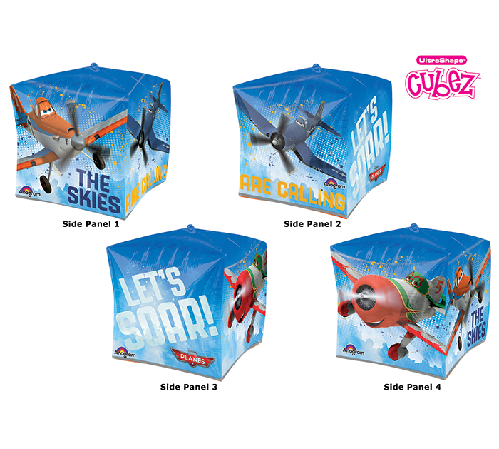 "15"" Cubez Disney Planes Balloon Packaged"