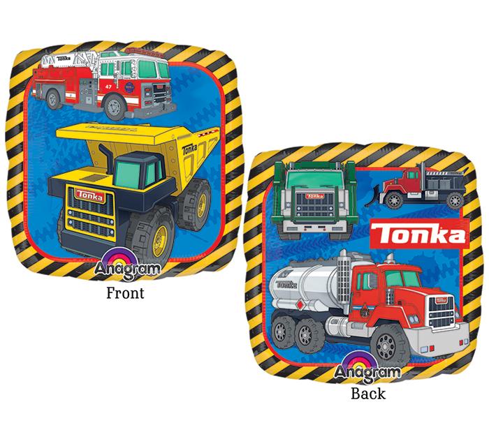 """9"""" Airfill Only Tonka Truck Balloon"""