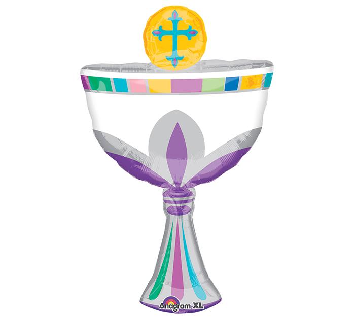 "31"" SuperShape Communion Cup Balloon"