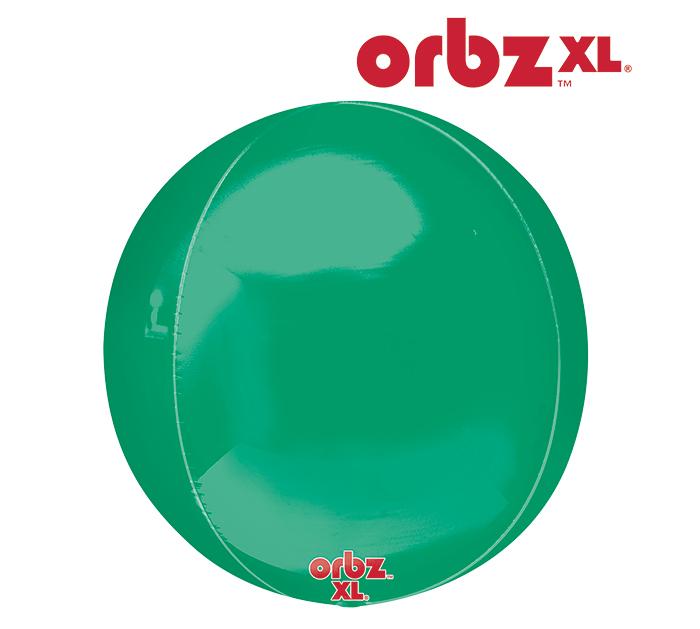 "16"" Orbz Obrz Green Balloon"
