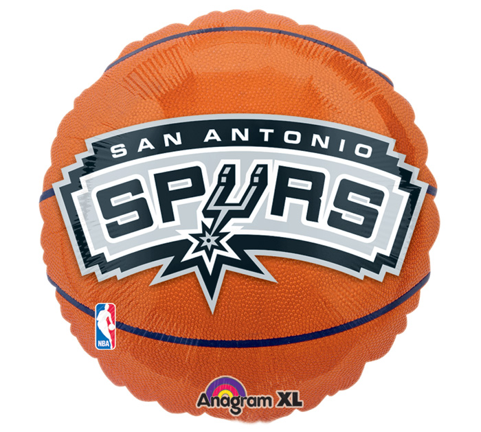 """18"""" NBA San Antonio Spurs Basketball"""