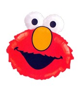 "20"" Elmo Head Sesame Street Balloon"