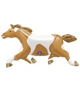 "46"" SuperShape Painted Pony Balloon"