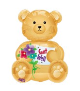 Mini Shape Bear Get Well