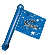 Rally Flags Mylar Balloons