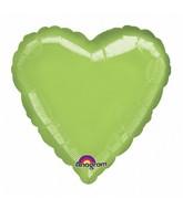 "32"" Large Balloon Lime Heart"