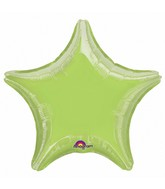 """32"""" Large Balloon Lime Star"""