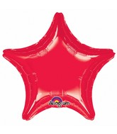 """32"""" Large Balloon Red Star"""