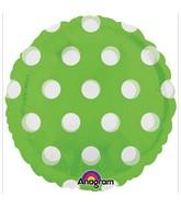 "18"" Magicolor Dots Lime"