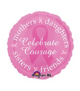 Breast Cancer Mylar Balloons