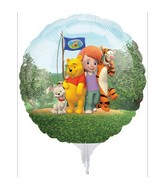 "9"" to 11"" EZ Fill Balloons Airfill Pooh With Sticks (3 Pack)"