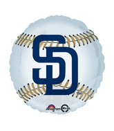 "18"" MLB San Diego Padres Baseball Balloon"