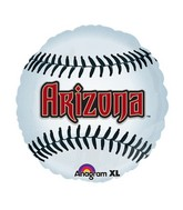 "18"" MLB Arizona Diamondbacks Baseball Balloon"