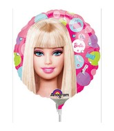 """9"""" Mini Balloon (Airfill Only) Barbie Pattern"""