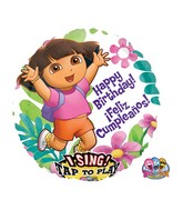 "28"" Sing-A-Tune Dora Happy Birthday"