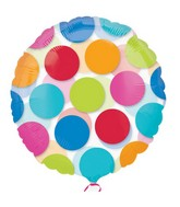 "18"" Cabana Dots Balloon"