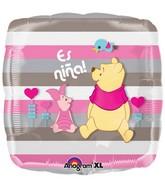 """18"""" Es Nina Pooh Balloon"""