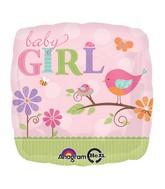 """18"""" Tweet Baby Girl Balloon"""