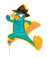 Mini Shape Airfill Only Agent P Phineas & Ferb