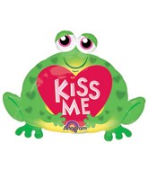 Airfill Only Mini Shape Kiss Me Toad Balloon