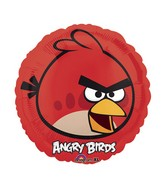 "18"" Angry Birds Red Bird Mylar Balloon"