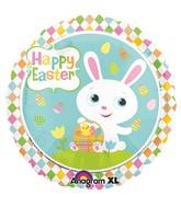 """18"""" Adorable Bunny Foil Balloon"""