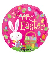 "18"" Playful Easter Bunny Balloon"