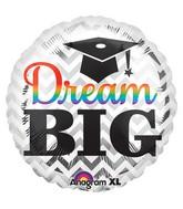 "32"" Dream Big Grad Balloon"