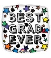 "18"" Best Grad Ever Balloon"