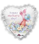 "22"" SuperShape Intricates Piglet Mother's Day Balloon"
