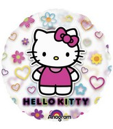 Hello Kitty Mylar Balloons