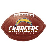 Junior Shape San Diego Chargers Football